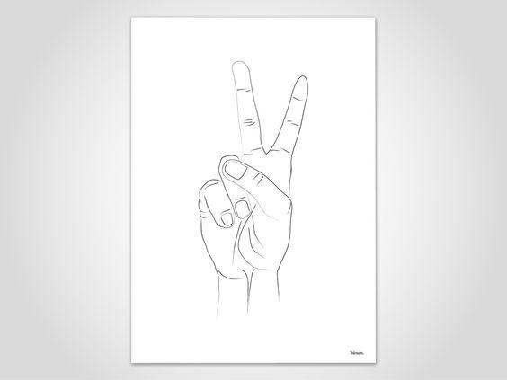 SKIZZE HÄNDE NO.3 — moderne Poster, Hand, Mensch, abstrakt Kunstdrucke, Art Print, Zeichnung, Kohle, Bleistift, Illustration, Minimalistisch von banum auf Etsy