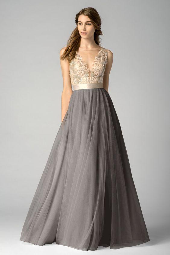 Shop Watters Bridesmaid Dress - 7319i in Bobbinet at Weddington ...