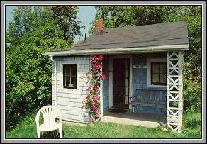 a great idea for my little retirement cottage.: