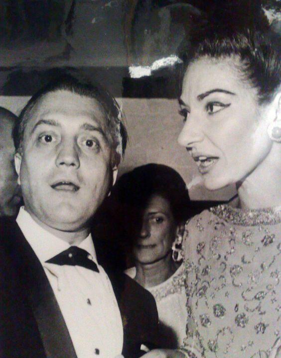 Piero Cappuccilli e Maria Callas: