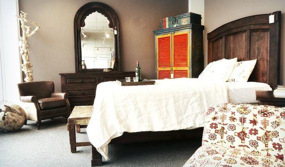 Zane bedroom in walnut. www.homedesignstoreflorida.com
