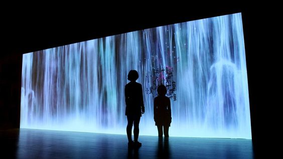 The Spirit Waterfall   teamLab / チームラボ