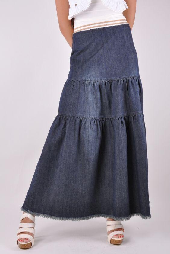 Vintage Jean Skirts 49
