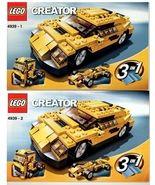 LEGO® Creator 4439 3 in 1 Cool Cars, Instructio... - $6.99