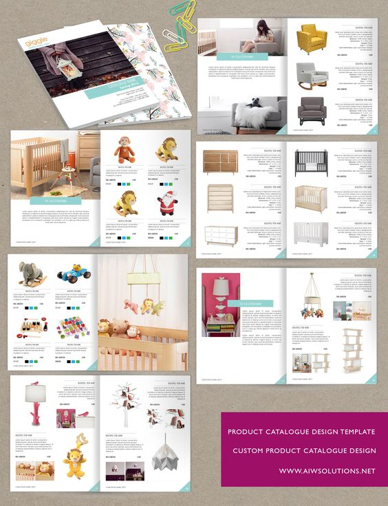 product catalog template word