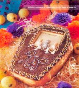 Pan de muerto de guayabas