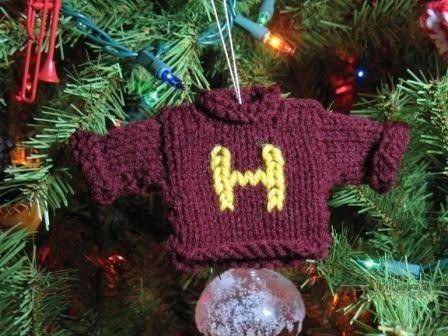 Ce pull Weasley à accrocher sur votre sapin :