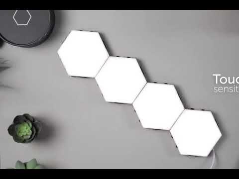 Touch Sensitive Led Lamp Wall Lights Diy Led Tile Floor Living Room