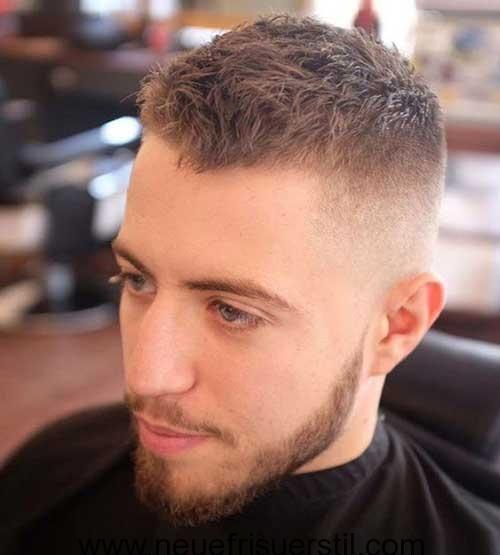 Styling kurze haare manner