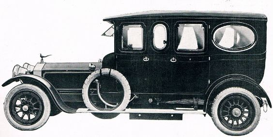 1913 Limousine by Thorn (chassis 2170)