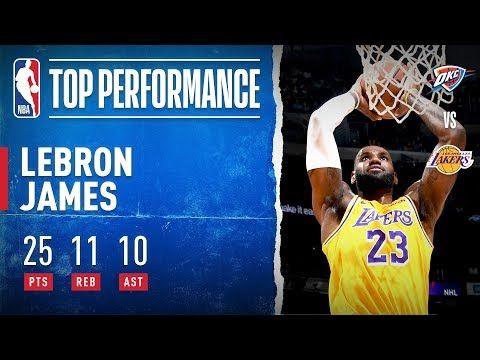 Lebron James Makes History Youtube