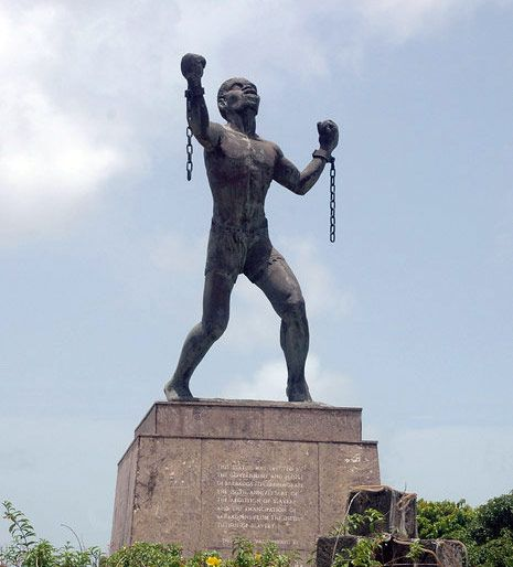 Emancipation Statue of Barbados