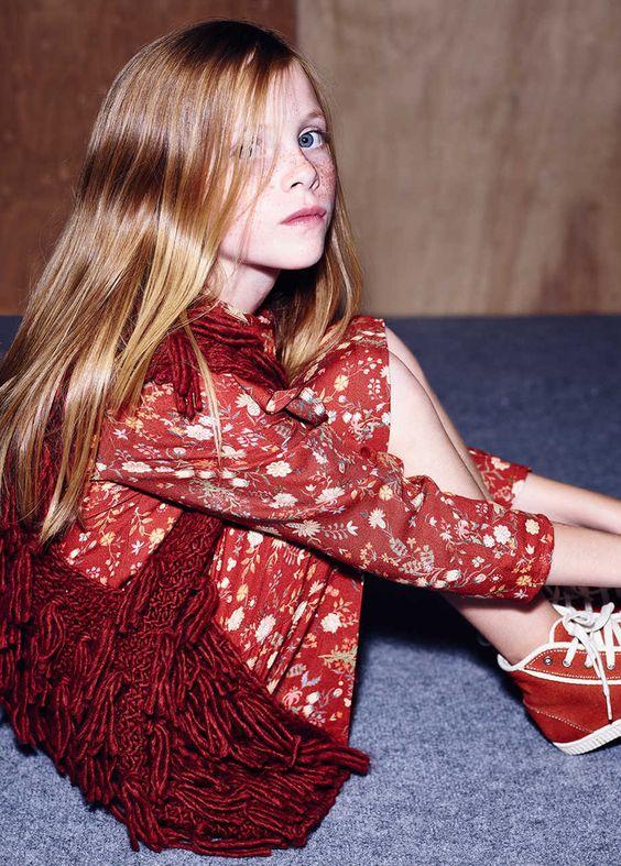 Zara Kids colección de otoño en ropa de niños