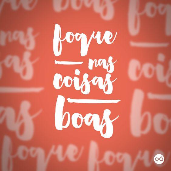 São as únicas coisas que  merecem nossa atenção!!  ;) #focosempre #SejaLivreeLeve