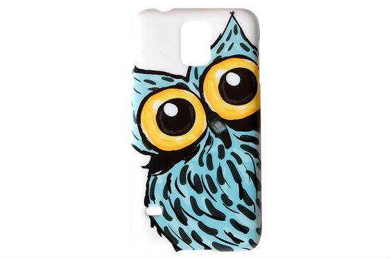 Big Eyes Owl Phone Case