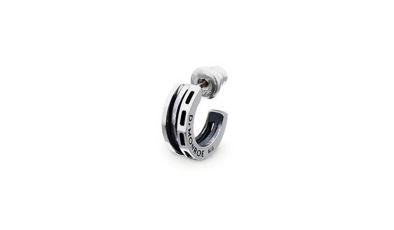 Dr MONROE Silver925 Mens Pierced EarringsPE-48-SV