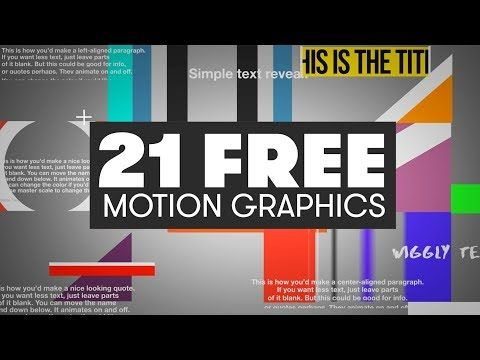 Want To Add Some Motion Graphics To Your Videos Without After Effects Download These 21 F Adobe Premiere Pro Premiere Pro Tutorials Motion Graphics Tutorial