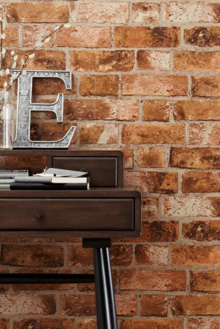 Buy bricks wallpaper from the next uk online shop home for Wallpaper next home