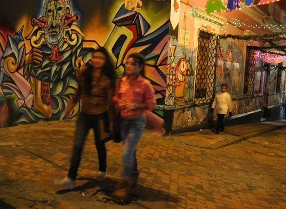 Candelaria in Bogota, Colombia