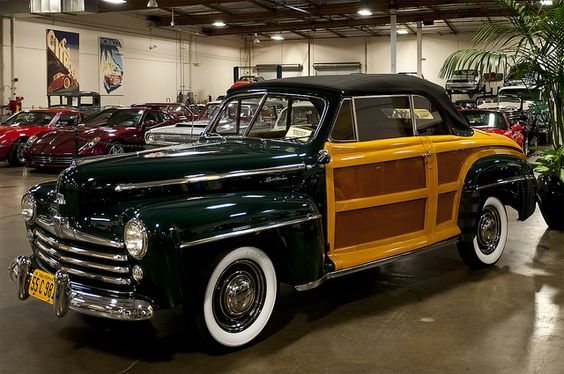 1947 Ford Sportsman Woody Convertible