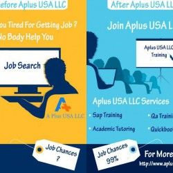 A Plus USA LLC, one of the leading training service provider which offers A plus SAP Training, QA training, Quickbooks Training in Houston. This Leading Platform also open for In home academic tutoring at competitive rates. for more info http://www.aplus-usa.com/