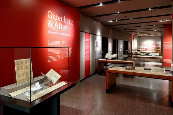"""PUL's new exhibition """"Gutenberg & After"""" showcases rare collections on early European printing from Scheide Library and nine other institutions 