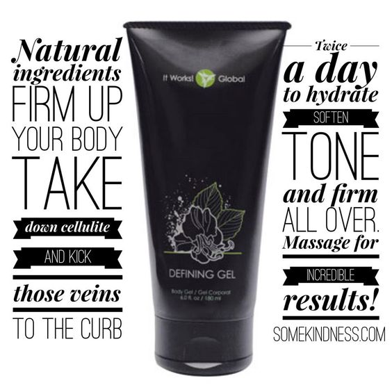it works! defining gel promo #thatcrazywrap #itworks Awloftin.myitworks.com