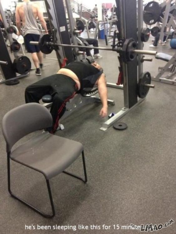 ROFL, this is funny You can see the result | #result, #sleeping, #training, #gym, #funny