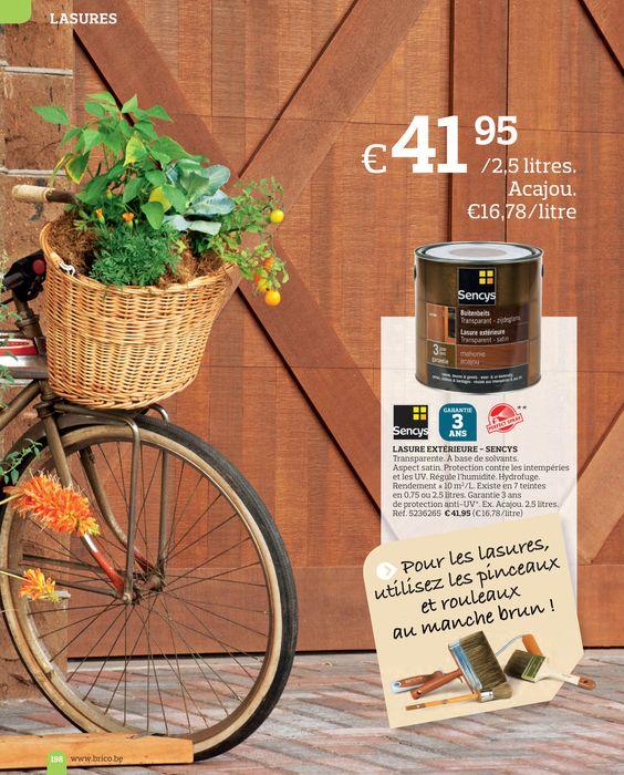 lasure pour cabanon couleur acajou ´tit coin de paradis Pinterest - lasure pour bois exterieur