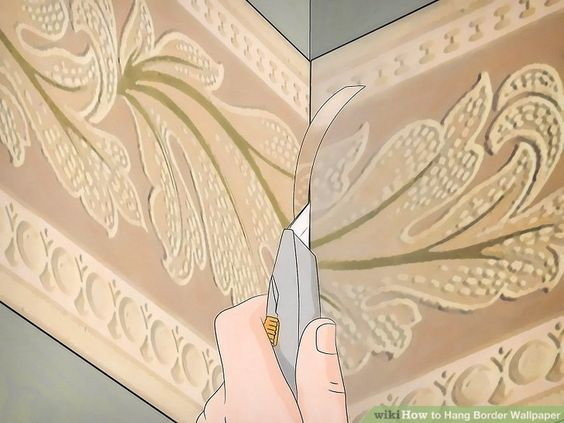How To Paint Over Wallpaper With Zinsser Wallpaper Cover Up Home Painting Over Wallpaper Wallpaper Border How To Hang Wallpaper