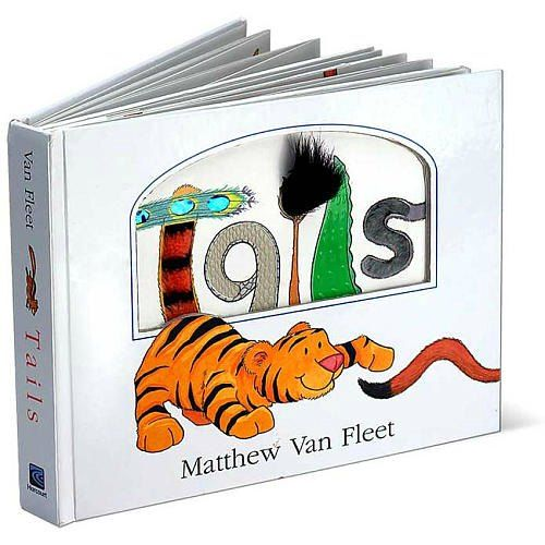 Your cutie will truly get a feel for different animals as they pull, pet, and even smell critters' tails in this interactive board book.Tails From HMH Books for Young Readers at Amazon.com