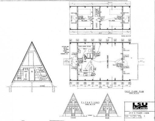 Howtobuildashed Log Cabin Plans A Frame House Plans Cabin Plans