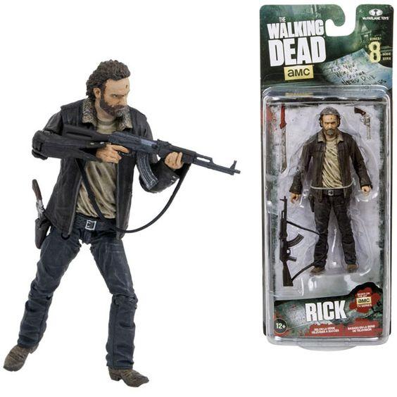 Walking Dead Tv Series 8 Rick Grimes Action Figure Tvs
