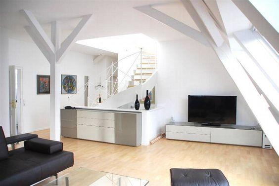 Privat Wohnung Konstanz 1 : Moderne Wohnzimmer von Peter Rohde Innenarchitektur