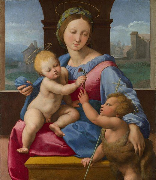 """The Aldobrandini Madonna"" by Raphael, c. 1509-1510"