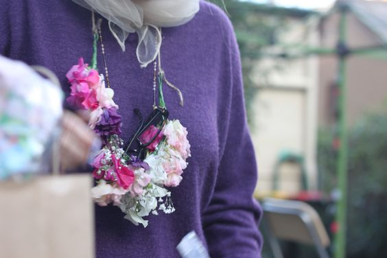 floral necklace! photo by ameliamay