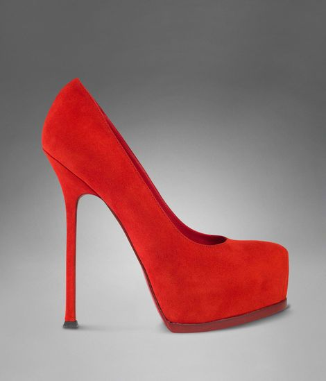 oh-m-god!!!! I want... #YSL #redpumps