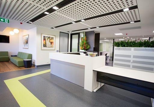 Tennyson Centre Emergency Clinic Flooring By Gerflor Usa S Mipolam Symbioz Collection Mipolam Symbioz High Pe Hospital Design Interior Design Health Design