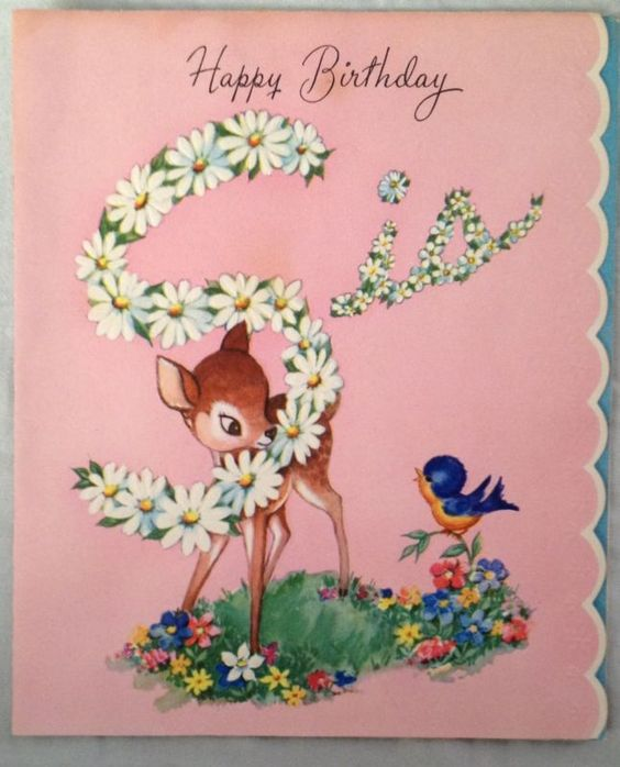 1940s, Birthday Cards And Deer On Pinterest