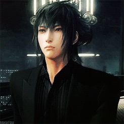 "Final Fantasy XV - Noctis  looks like he's saying ""lalalalala~"""