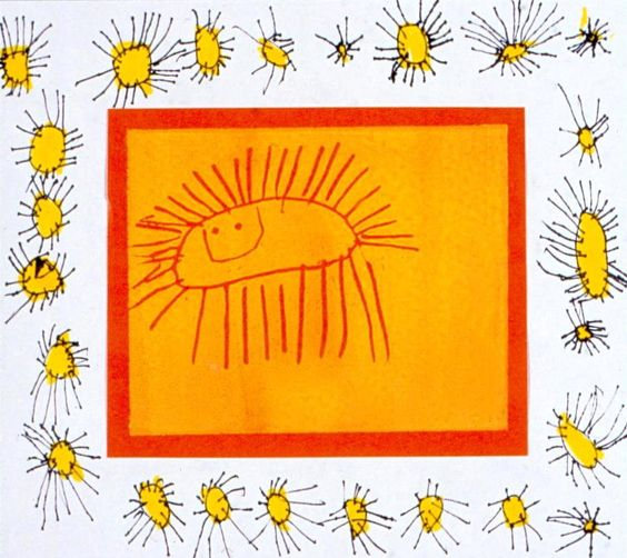 Sunshine. Age 4