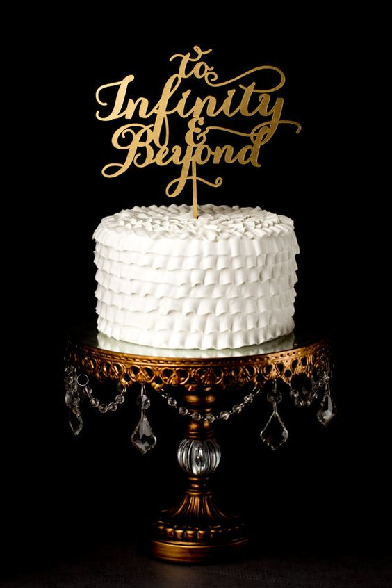 infinity wedding cake topper the world s catalog of ideas 16447