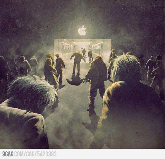 Actual zombies: Actual Zombies, Funny Pics, Izombies Illustration, Walking Dead Zombie, Zombies Walking Dead, Funny Pictures, Funny Stuff, Zombie Apocalypse, Apple Zombies