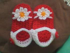Free Everything`s Crochet: ♥ CROCHET BABY SANDAL ♥ Pattern