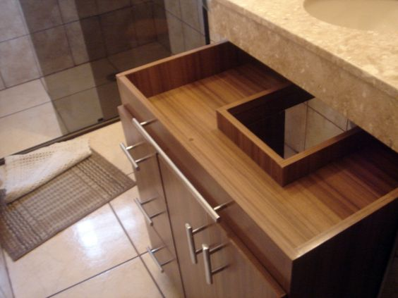 ideias gabinetes banheiro  Pesquisa Google  Decor  Banheiros  Pinterest  -> Gabinete De Banheiro Luxo