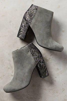 Lovely Velvet Suede Boots