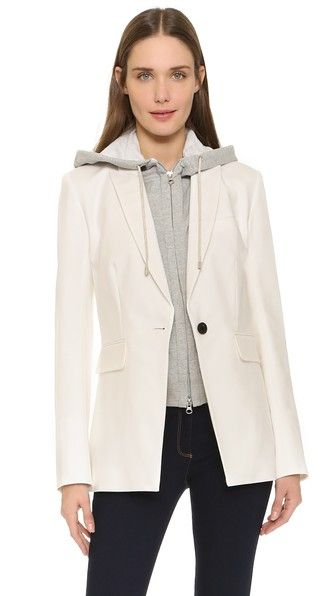 Veronica Beard Long & Lean Compact Jacket