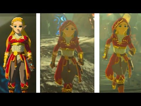 Ambitious Mod Reworks Breath Of The Wild To Make Zelda The Hero Breath Of The Wild Wild Outfits Zelda Breath