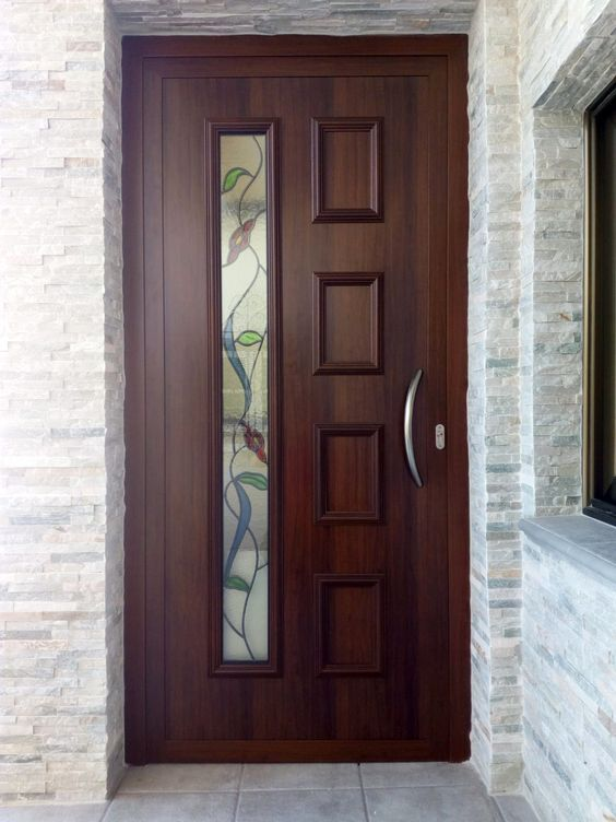 Get Inspired With Our Beautiful Front Door Designs From Modern To Traditional There Are Nearly Limitl Entrance Door Design House Designs Exterior Door Design