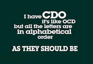 I can get on board with CDO!